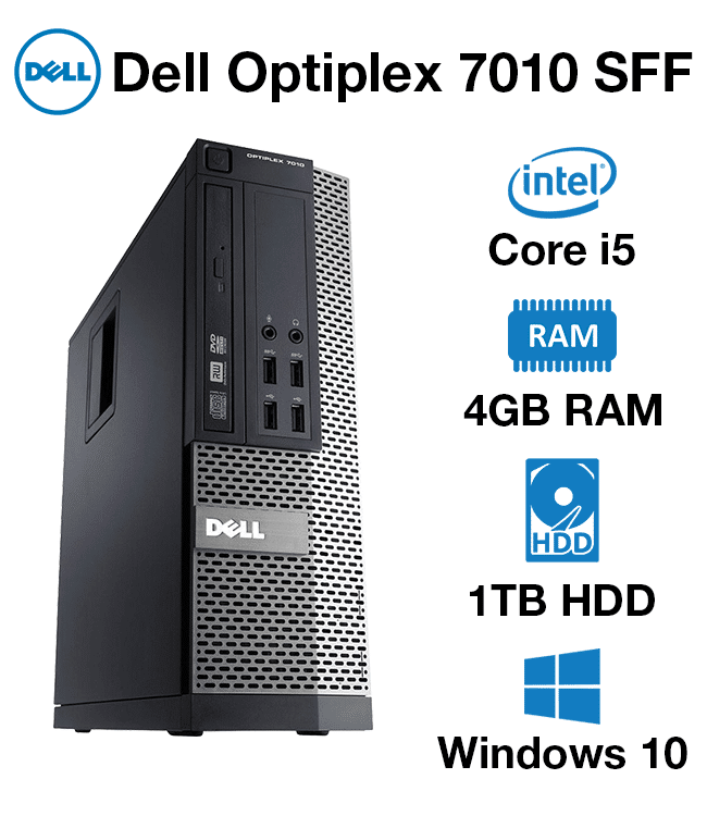 d62f44ecb16 Dell Optiplex 7010 DT Core i5 | 4GB | 1TB HD - Green IT