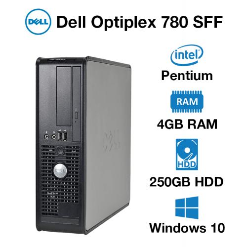 Dell Optiplex 780 SFF Pentium   4GB RAM   250GB HD