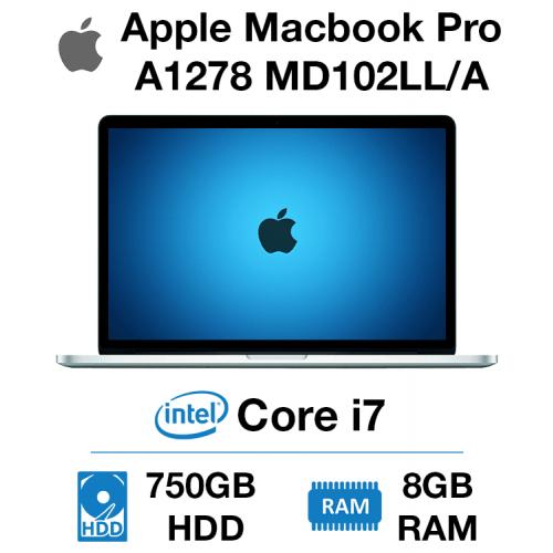 Apple Macbook Pro A1278 MD102LL/A Core i7   8GB   750GB HD