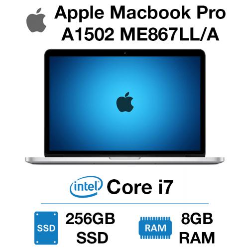 Apple Macbook Pro A1502 ME867LL/A Core i7   8GB   256GB SSD