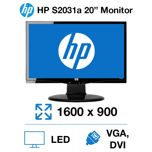 "HP S2031A 20"" Monitor"