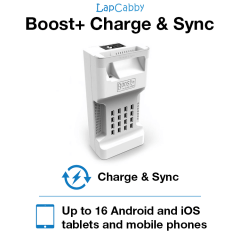 LapCabby Boost+ Charge & Sync