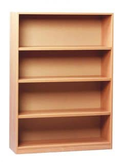 Monarch 1250 Beech Open Bookcase
