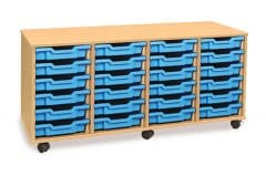 Monarch 24 Tray Unit Beech (4 columns of 6)