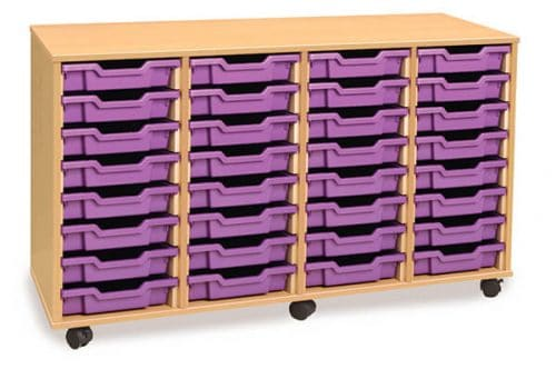 Monarch 32 Tray Unit Beech (4 columns of 8)