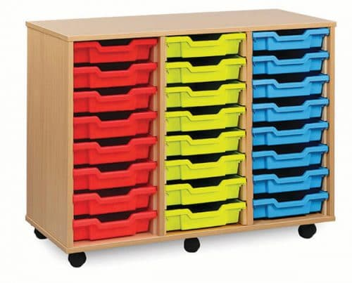Monarch 24 Tray Unit Beech (3 columns of 8)