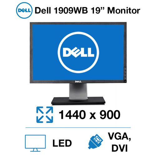 "Dell 1909WB 19"" Monitor"