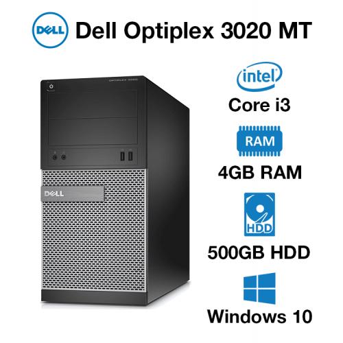 Dell Optiplex 3020 MT Core i3 | 4GB | 500GB HD