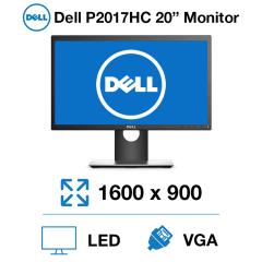 """Dell P2017HC 20"""" Monitor"""
