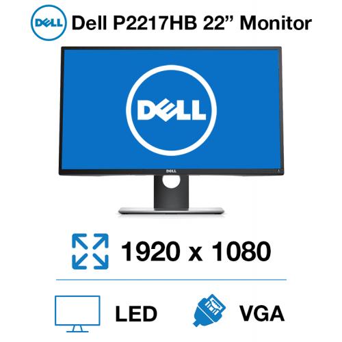 """Dell P2217HB 22"""" Monitor"""