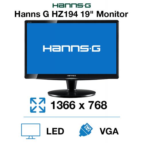 """Hanns-G HZ194 19"""" Monitor"""