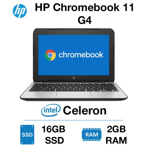 HP Chromebook 11 G4 Celeron   2GB   16GB SSD