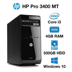HP Pro 3400 MT Core i3 | 4GB | 500GB HD