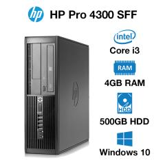 HP Pro 4300 SFF Core i3 | 4GB | 500GB HD