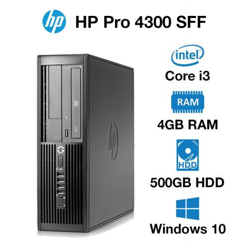 HP Pro 4300 SFF Core i3   4GB   500GB HD