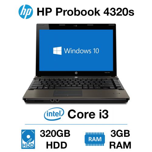 HP Probook 4320s Core i3   3GB   320GB HD