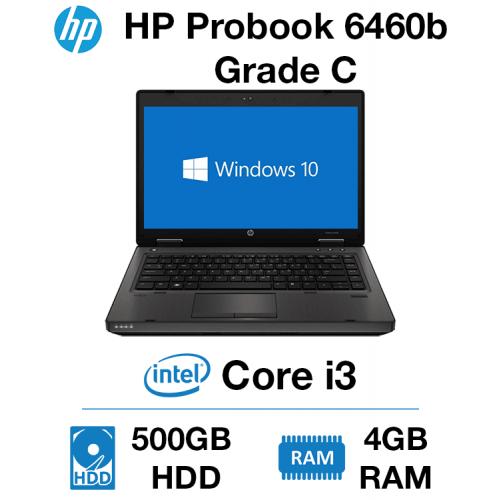 HP Probook 6460b Core i3 | 4GB | 500GB HD Grade C (Marks on Lid)