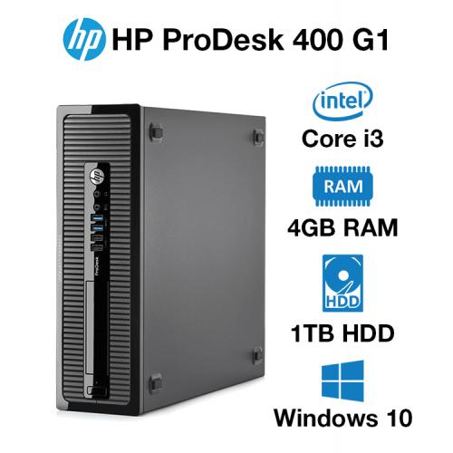 HP ProDesk 400 G1 SFF Core i3 | 4GB | 1TB HD