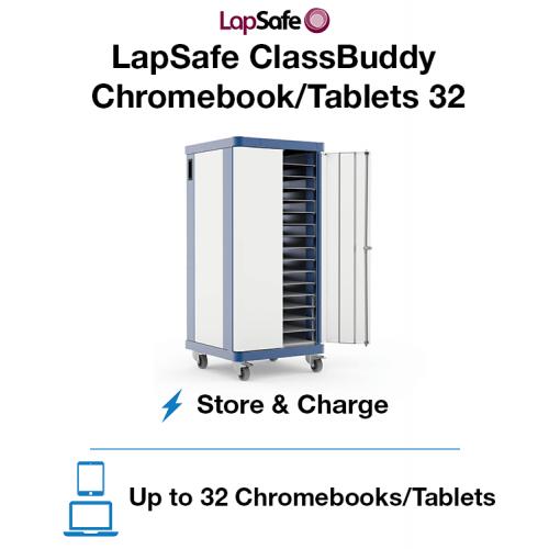LapSafe ClassBuddy Chromebook/Tablet 32