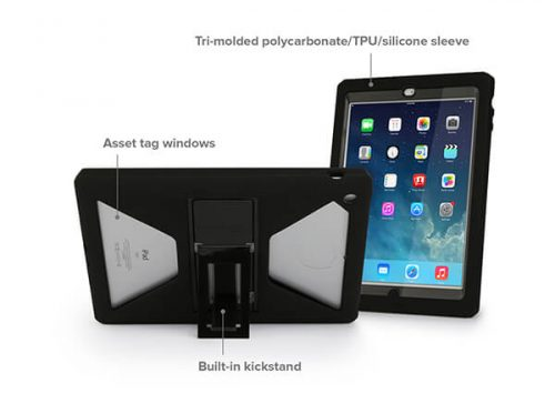MaxCases Shield Extreme-S Case for iPad Mini 4 - Sleek Version with Kickstand