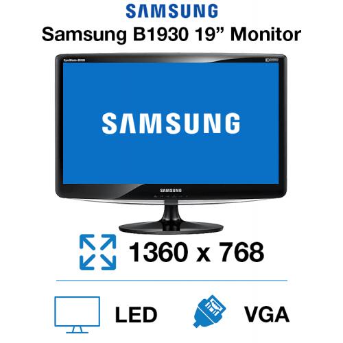 "Samsung B1930 19"" Monitor"