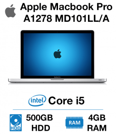 Apple Macbook Pro A1278 MD101LL/A Core i5 | 4GB | 500GB HD