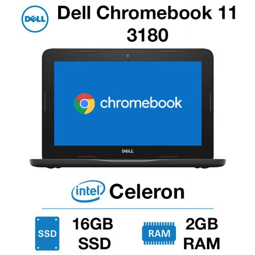 Dell Chromebook 11 3180 Celeron | 2GB | 16GB SSD