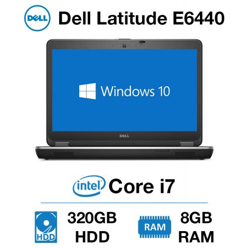 Dell Latitude E6440 Core i7 | 8GB | 320GB HD