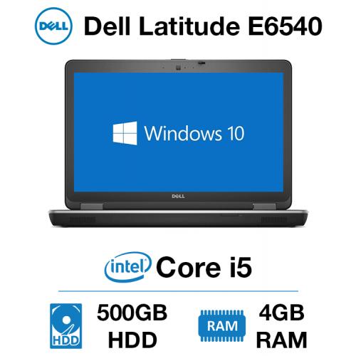Dell Latitude E6540 Core i5   4GB RAM   500GB HD