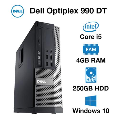 Dell Optiplex 990 DT Core i5 | 4GB | 250GB HD