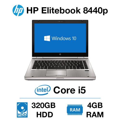 HP Elitebook 8440p Core i5   4GB   320GB HD