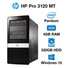 HP Pro 3120 MT Pentium | 4GB | 320GB HD