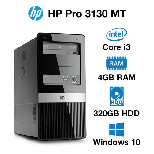 HP Pro 3130 MT Core i3   4GB   320GB HD