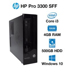 HP Pro 3330 SFF Core i3 | 4GB | 500GB HD