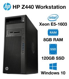 HP Z440 Workstation Xeon E5-1603 | 8GB | 120GB SSD