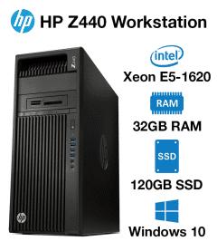 HP Z440 Workstation Xeon E5-1620 | 32GB | 120GB SSD
