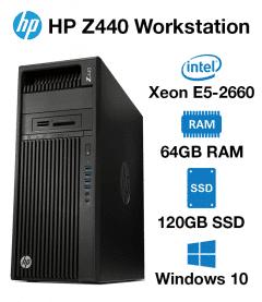HP Z440 Workstation Xeon E5-2660 | 64GB | 120GB SSD