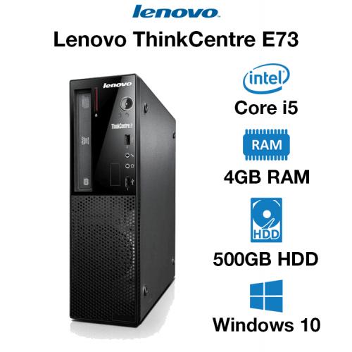 Lenovo ThinkCentre E73 Core i5   4GB RAM   500GB HD