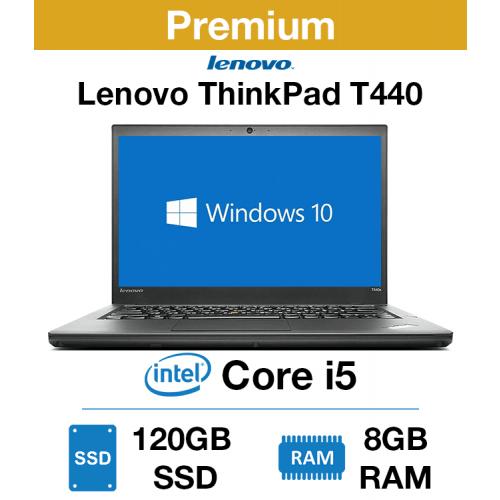 Lenovo ThinkPad T440 Core i5   8GB RAM   120GB SSD (Premium)