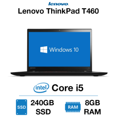 Lenovo ThinkPad T460 Core i5 | 8GB | 240GB SSD