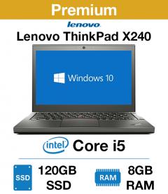Lenovo ThinkPad x240 Core i5 | 8GB RAM | 120GB SSD (Premium)