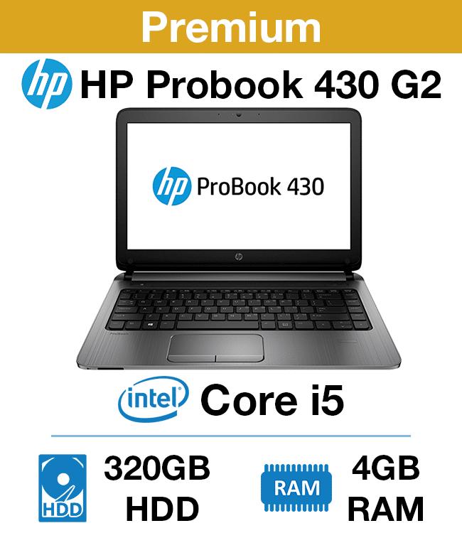 HP Probook 430 G2 Celeron | 4GB RAM | 320GB HDD (Premium