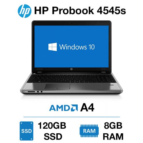 HP Probook 4545s AMD A4   8GB   120GB SSD (Offer)