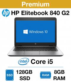 "HP Elitebook 840 G2 Core i5 | 8GB RAM | 128GB SSD (12.5"")(Premium)"