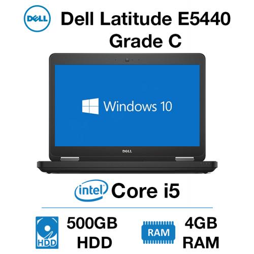 Dell Latitude E5440 Core i5 | 4GB | 500GB HD Grade C Minor Screen Blemish(Minor Screen Blemish)