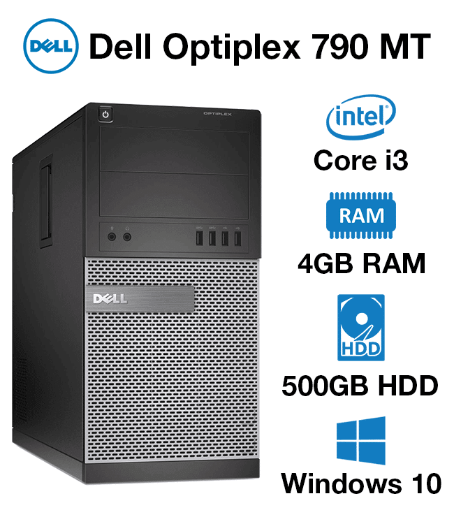 Verwonderend Dell Optiplex 790 MT Core i3 | 4GB | 500GB HD - Green IT PQ-67