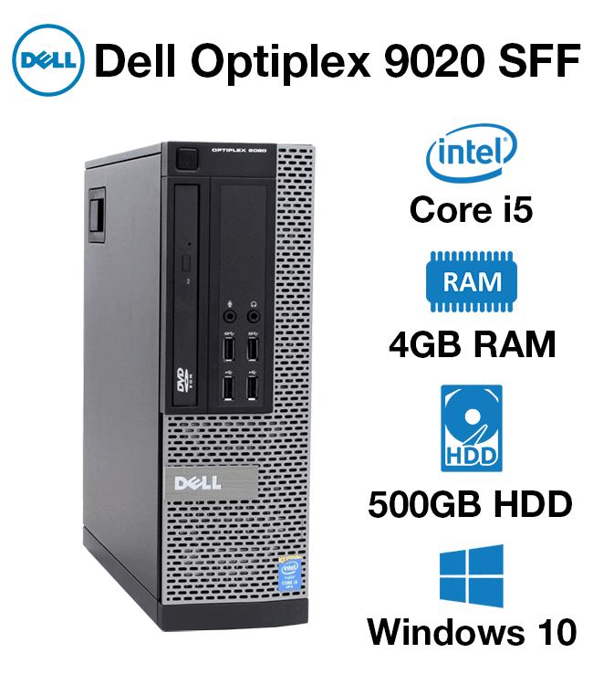 Dell Optiplex 9020 SFF Core i5 | 4GB RAM | 500GB HD