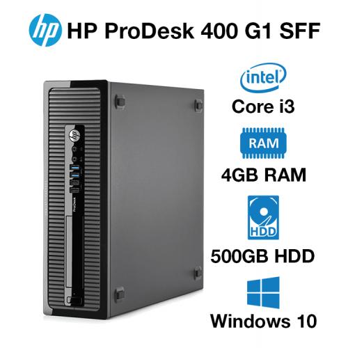 HP ProDesk 400 G1 SFF Core i3   4GB   500GB HD