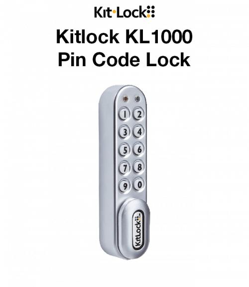 Kitlock KL1000 Pin Code Lock (For Lapsafe Trolleys)