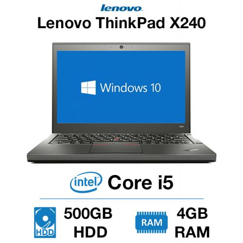 Lenovo ThinkPad x240 Core i5 | 4GB RAM | 500GB HDD